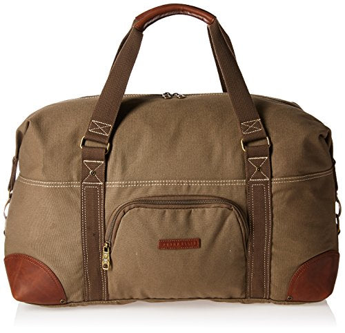 Shop Perry Ellis 22 Quot Carry Canvas Bag Weekend Duffel