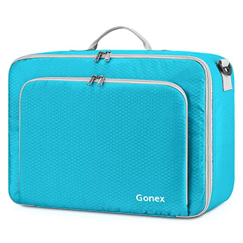 Gonex Travel Duffel Bag, Portable Carry on Luggage Personal Item Bag for Airlines, Water&