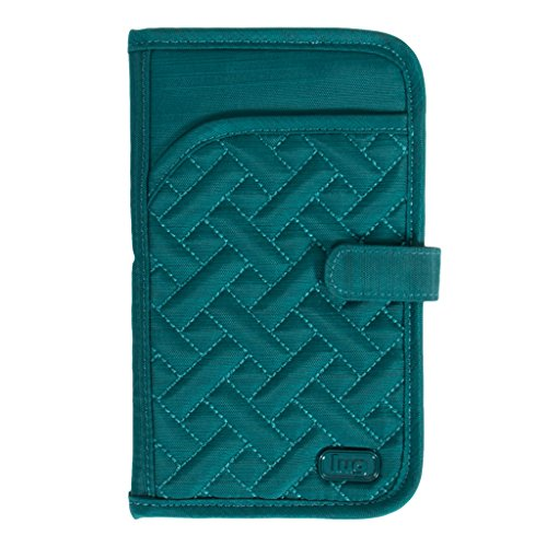 Lug Women'S Tandem Wallet, Brushed Teal