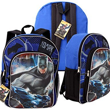 DC Comics Batman v Superman Backpack with Front Pocket - 15""