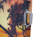 Luggage Cover Orange Sunset Palm Tree Beach Travel Case Suitcase Cover Bag Protector 3D Print