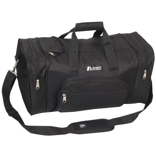 Everest Luggage Classic Gear Bag - Small, Black, Black, One Size