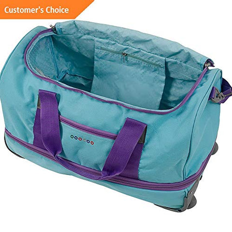 Sandover Stadium 21 Rolling Duffel 3 Colors Softside Carry-On NEW | Model LGGG - 2572 |