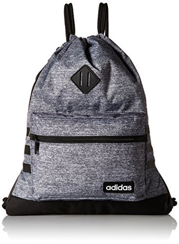 adidas Classic 3S Sackpack, Onix Jersey, One Size
