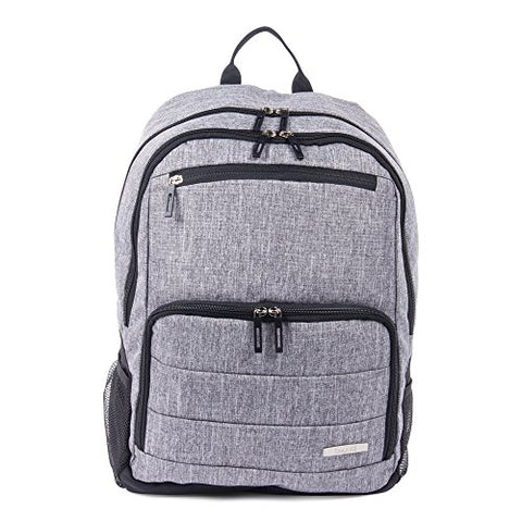 Bugatti Ryan Lightweight Backpack, Polyester, Grey