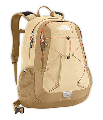 The North Face Jester Backpack Women's Mojave Desert Tan/Peach Cobbler Orange