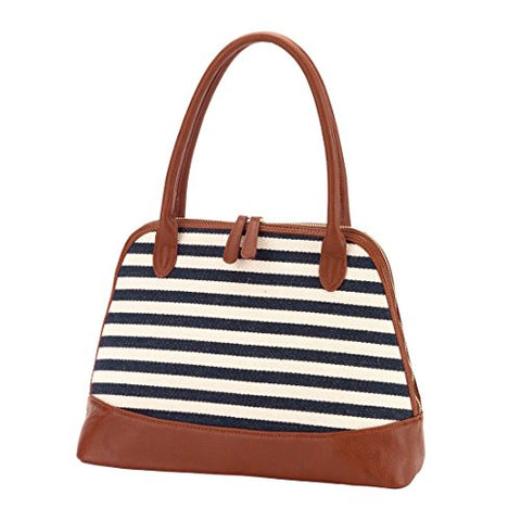 Chandler Stripe Purse Carry On Bag - Blank