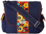 Hadaki Trend Messenger Bag,Navy/Arabesque,One Size
