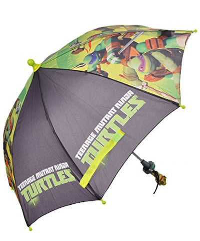 "Teenage Mutant Ninja Turtles ""Hang Tough"" Umbrella - lime/black, one size"