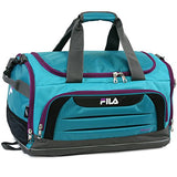 Fila Cypress Small Sport Duffel Bag, Teal/Purple, One Size