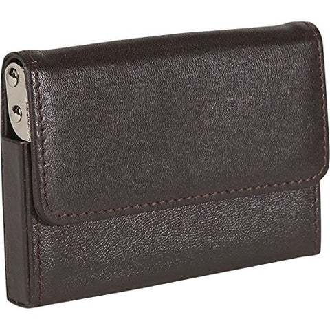 Royce Leather Horizontal Framed Card Case