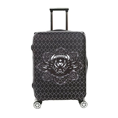 Dofover Travel Trolley Case Protective Cover Dust Cover Bags Thermal Transfer Popular Trend Pattern