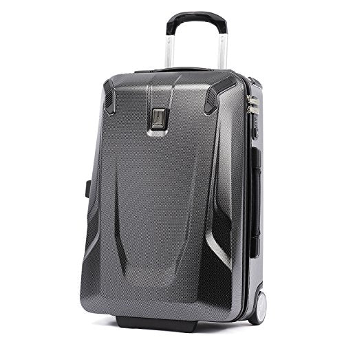 "Travelpro Crew 11 22"" Hardside Rollaboard Carry-On Suitcase, Carbon Grey"