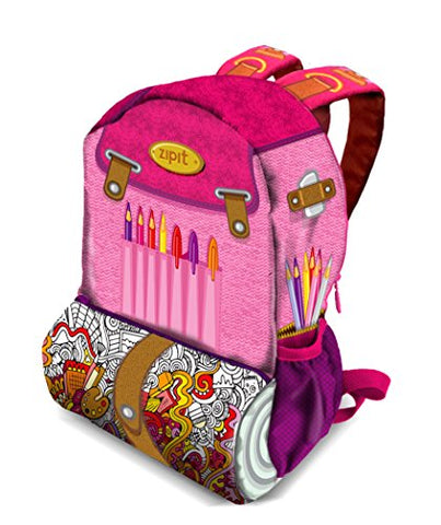Zipit Adventure Backpack, Drawing Artist