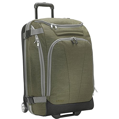 "eBags TLS Mother Lode Junior 25"" Rolling Duffel Bag Luggage - (Sage Green)"