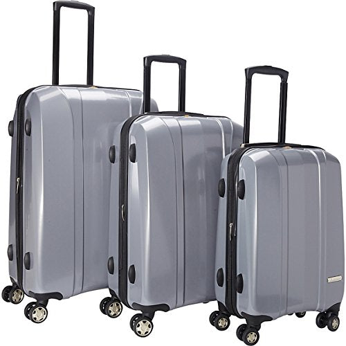 The Set Of Classic Silver A719 Exp 3Pc Luggage Set