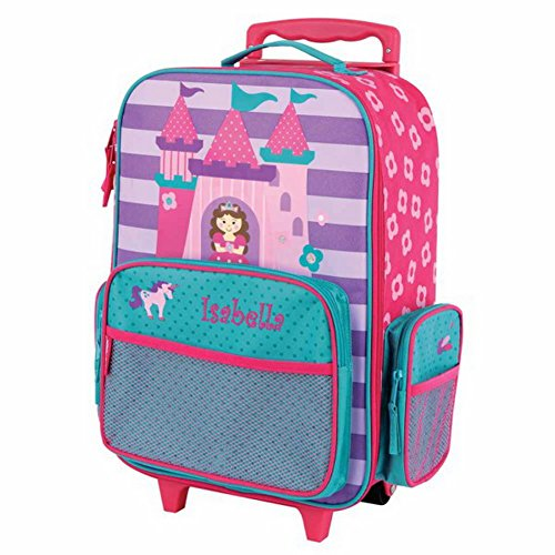 Personalized Kids Rolling Luggage (Princess)