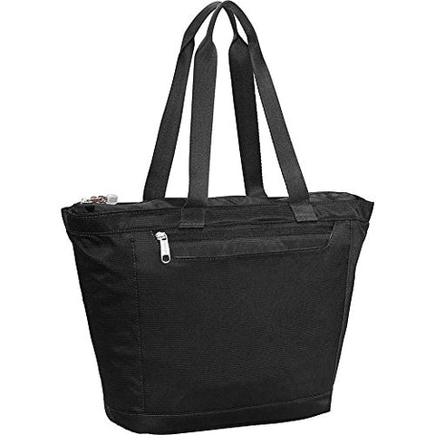 eBags Metro Travel Tote Bag with RFID Security for Women - 12-inch - Carry-On - (Black)