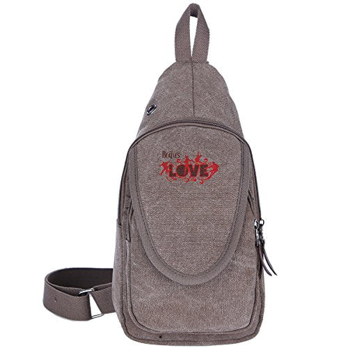 Beatles Love Logo Unisex Sports Backpack Crossbody Sling Shoulder Chest Bags