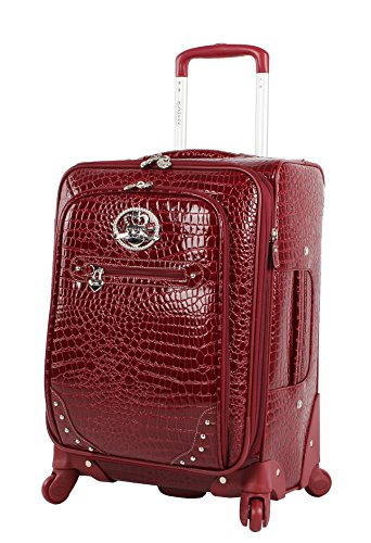 Shop Kathy Van Zeeland Croco Pvc Luggage Set Luggage Factory