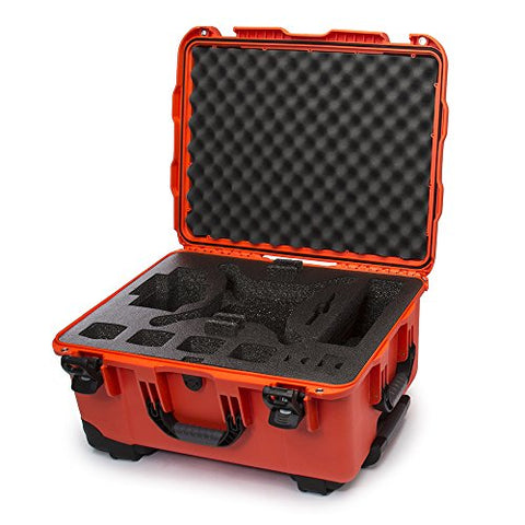 Nanuk Dji Drone Waterproof Hard Case With Wheels And Custom Foam Insert For Dji Phantom 4/
