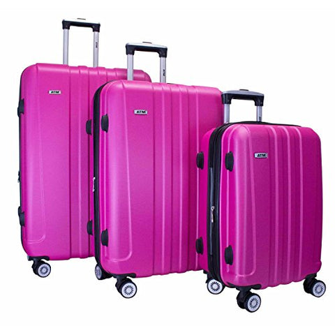 ATM Quad Collection 3pc Set Fuchsia
