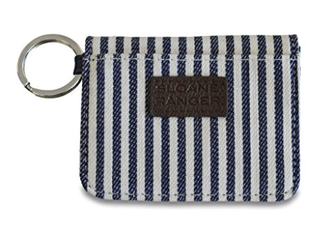 Sloane Ranger Denim Stripe Id Case