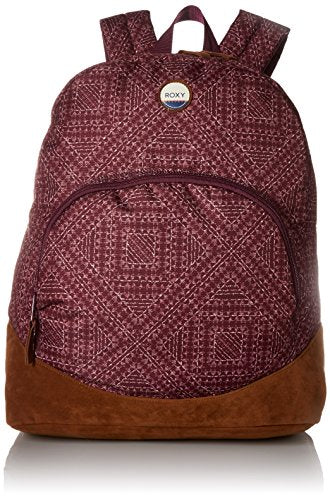Roxy Women's Fairness Printed Backpack, Grapewine Cayo Coco