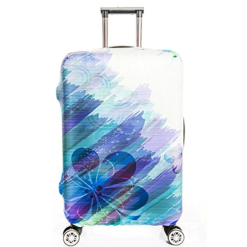 Dofover Luggage Cover Protector Elastic Spandex Travel Suitcase Protective Cover