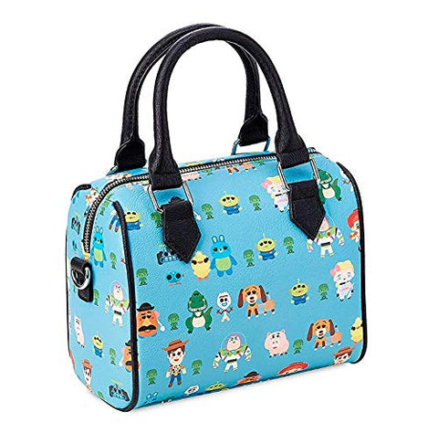 Loungefly x Toy Story Chibi Characters Allover-Print Duffel Purse (One Size, Multicolored)