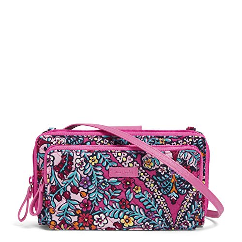 Vera Bradley Iconic Deluxe All Together Crossbody, Signature Cotton, Kaleidoscope