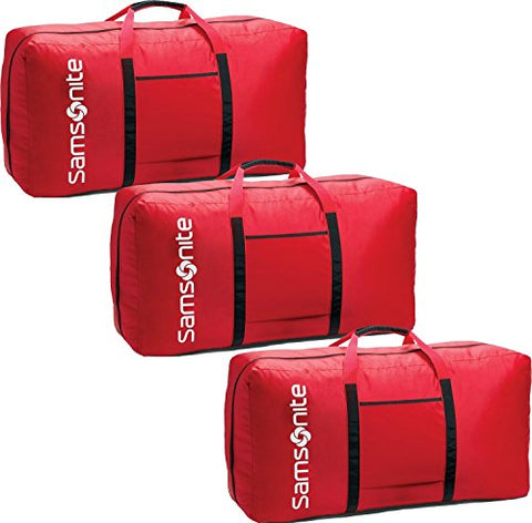 "Samsonite Tote-A-Ton 32.5"" 3-Piece Duffel Set (Red)"