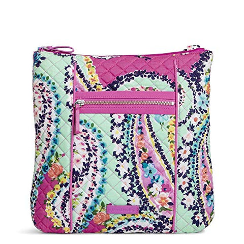 Vera Bradley Iconic Hipster Crossbody Bag, Signature Cotton, Wildflower Paisley