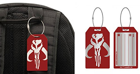 Star Wars Assassin Aluminum Luggage Tag