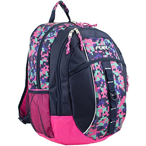 Fuel Sport Active Multi-Functional Backpack, Navy/Pink Camo