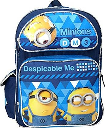 "Despicable Me 3 Minions 16"" Large Backpack"