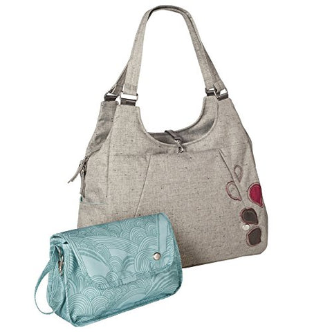 Haiku Women'S Renaissance Mama Eco Laptop Tote Bag (W/ Diaper Changing Kit), Mushroom