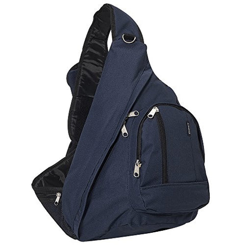 Everest Sling Bag, Navy, One Size
