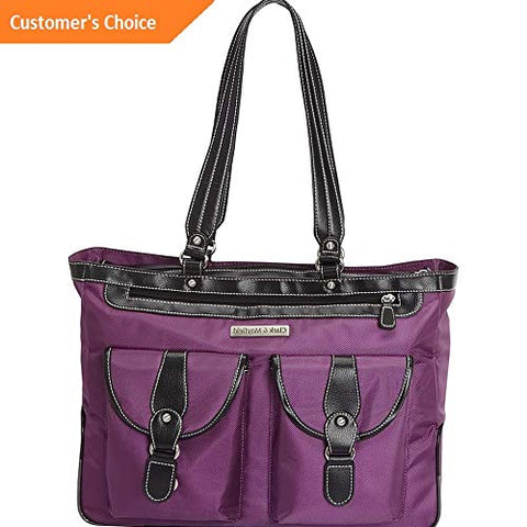 Sandover Clark Mayfield Marquam Laptop Handbag 18.4 7 Colors Womens Business Bag NEW | Model LGGG -
