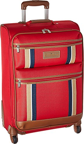 "Tommy Hilfiger Unisex Scout 4.0 25"" Upright Suitcase Red One Size"