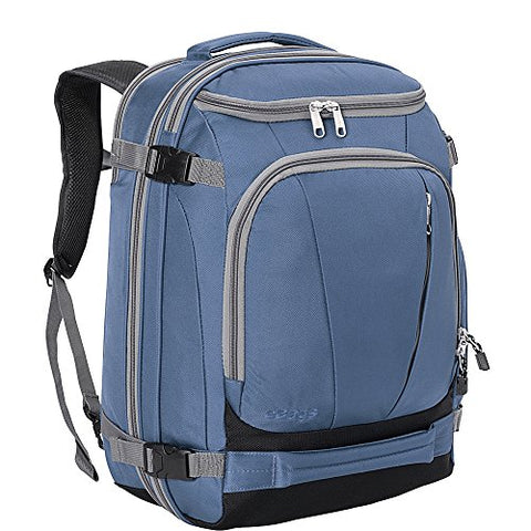 "eBags TLS Mother Lode Weekender Junior 19"" Carry-On Travel Backpack - Fits Up to 17.5"" Laptop - (Blue Yonder)"