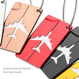 Nuolux Travel Luggage Tags Suitcase Luggage Bag Tags, Travel Id Bag Tag Airlines Baggage Labels