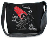 Dancing Participle Ugly Duckling Embroidered Sling Bag
