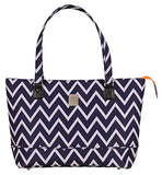Jenni Chan Aria Madison Computer Tote, Blue, One Size