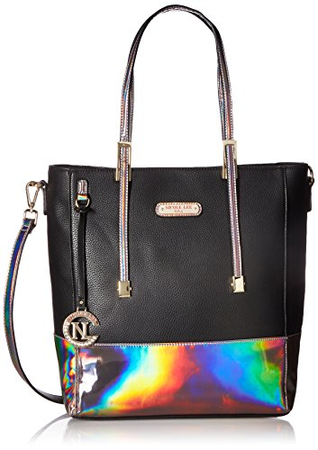 Nicole Lee Shppper Bag, Black, One Size