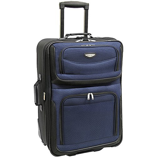 "Traveler's Choice Amsterdam 29"" Expandable Upright Navy"
