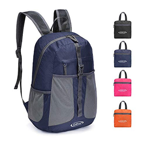 G4Free Lightweight Packable Backpack Multipurpose Casual Backpack 25L Hiking Daypack for Sport