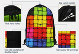 CrazyTravel Stylish School Laptop Shoulder Backpack Books Bags Case For Teens Girls Men Hiking Camping Ballet Music Print