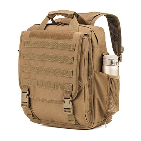 Multifunction Tactical Laptop Case / Bag (COYOTE 11159)