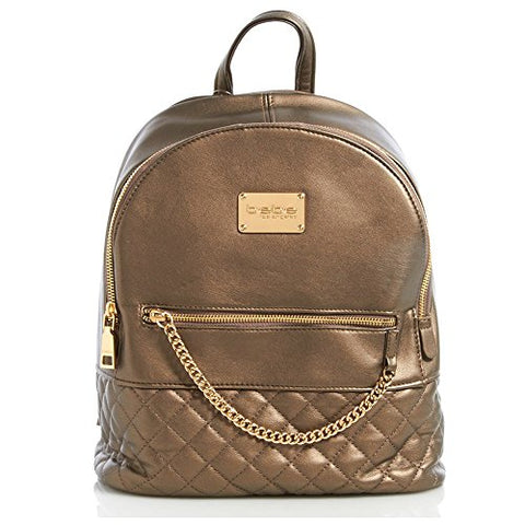 Bebe Gina Quilted Chain Backpack